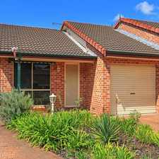 Rental info for Modern Villa in Quite Complex in the Wollongong area