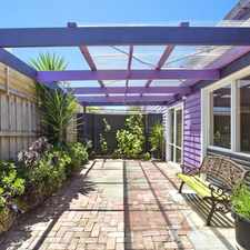 Rental info for Cute Cottage - Walk to Main Street Mornington in the Mornington area