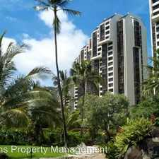 Rental info for 531 Hahaione St. #2-7A
