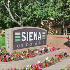 Rental info for Siena on Baseline