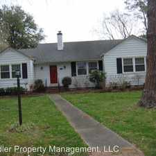 Rental info for 4616 Kemp Drive in the Chesapeake area