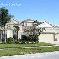 Rental info for 10530 Palm Cove Ave