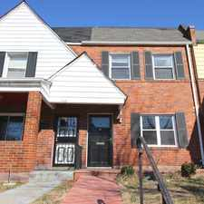 Rental info for 3414 Baker Street NE, Washington DC, 20019 - Charming 2 Bedroom, 1 Bathroom Towhouse in Lily Ponds! in the River Terrace - Lily Ponds - Mayfair area