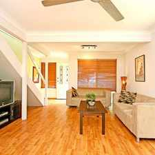 Rental info for CHARMING TOWNHOUSE WITH AIR-CONDITIONING in the Brisbane area