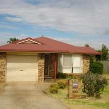 Rental info for 3 Bedroom home Quiet location in the Toowoomba area
