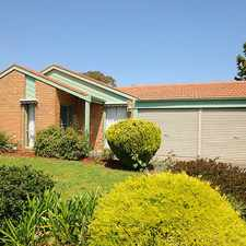 Rental info for Fabulous Family Home in the Aspendale Gardens area
