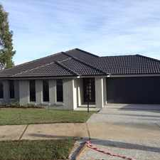 Rental info for Near New Family Home in the Greenbank area