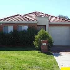 Rental info for DON'T GO PAST THIS BARGAIN MODERN VILLA IN GREAT LOCATION in the Cannington area
