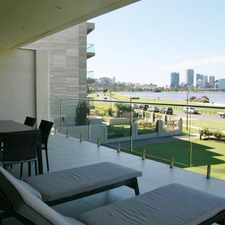 Rental info for Sweeping Views over Swan River, Amazing Balcony in the Perth area