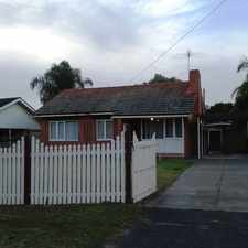 Rental info for Quaint 3 Bedroom 1 Bathroom House in Bullsbrook in the Perth area