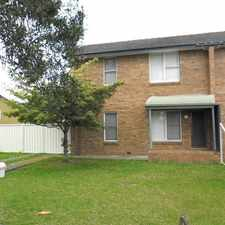 Rental info for Neat Townhouse in the Wollongong area
