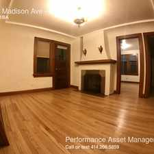 Rental info for 1211 Madison Ave in the 53172 area