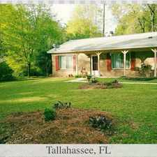 Rental info for 3 bedrooms House in Tallahassee