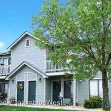Rental info for 6744 S Webster St in the Columbine area