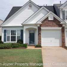 Rental info for 338 Claybrooke Drive