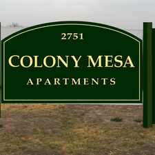 Rental info for Colony Mesa