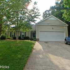 Rental info for 7301 Canyon Dr in the Charlotte area