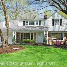 Rental info for 23547 Duffield Rd in the Shaker Heights area