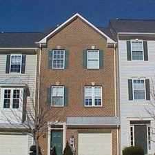 Rental info for Rarely available townhome in great school district.