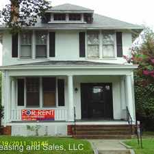 Rental info for 2406 Barton Ave in the Northern Barton Heights area