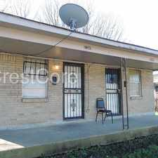 Rental info for 2347 Cable Memphis TN 38114 in the Orange Mound Civic Orgganization area
