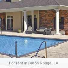 Rental info for Baton Rouge - $980/mo - ready to move in. Pet OK!