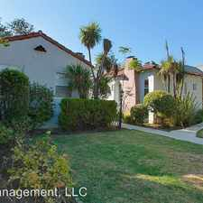 Rental info for 497 1/2 N Madison Ave in the Pasadena area