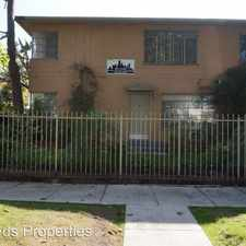 Rental info for 6112 W. Eleanor Ave. APT 4 in the Los Angeles area