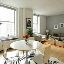 Rental info for Rector St in the New York area