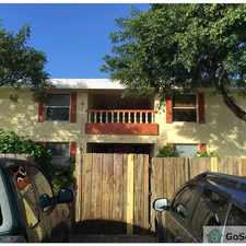 Rental info for GREAT LOCATION IN THE HEART OF FT LAUDERDALE, MINUTES FROM DOWNTOWN, BEACHES, DINING AND ENTERTAINMENT AND TURNPIKE. in the Melrose Park area