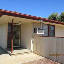 Rental info for 3 BEDROOM HOME - WALKING DISTANCE TO UNITY COLLEGE & HIGH SCHOOL in the Murray Bridge area