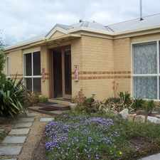 Rental info for NORTH FACING METICULOUSLY KEPT HOME DOUBLE GARAGE in the Traralgon area