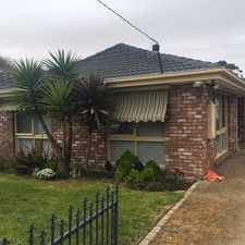 Rental info for UNDER APPLICATION in the Melbourne area