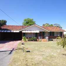 Rental info for **BIG HOUSE** in the Karrinyup area