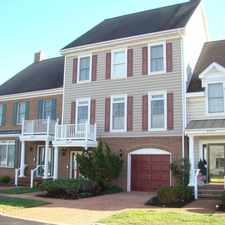 Rental info for Townhouse in move in condition in Easton