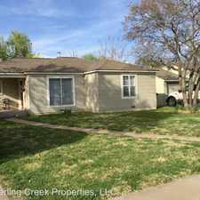 Rental info for 3302 26th Street in the Lubbock area