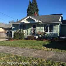 Rental info for 3716 NE 78TH AVE. in the Madison South area