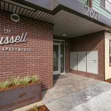 Rental info for The Russell in the Eliot area