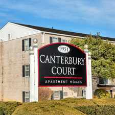 Rental info for Canterbury Court