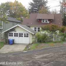 Rental info for 6219 SW 21st Ave Unit B in the Portland area