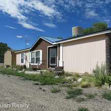 Rental info for 111 Road 4800 #A