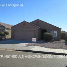 Rental info for 15999 W. Larkspur Dr.