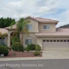 Rental info for 5286 W. Lone Cactus Dr.
