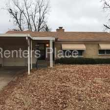 Rental info for Brookside 3 bed 1 bath in the Tulsa area