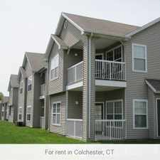 Rental info for Colchester, 1 bed, 1 bath for rent