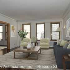 Rental info for 431 W. Roscoe St. #7A in the Chicago area