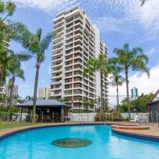 Rental info for KINGS ROW SOUTH - FABULOUS 9TH FLOOR - 2 BEDROOM FURNISHED AND STUNNINGLY RENOVATED UNIT in the Surfers Paradise area