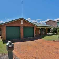 Rental info for QUALITY FAMILY HOME - COSY AND COMFORTABLE IN A GREAT LOCATION! in the Toowoomba area