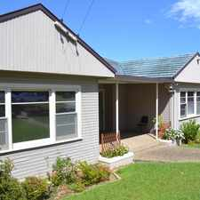 Rental info for TWO BEDROOMS PLUS A STUDY/3RD BEDROOM in the Wollongong area