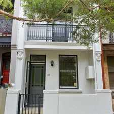 Rental info for LEASED RAY WHITE INNER WEST RENTALS! in the Camperdown area